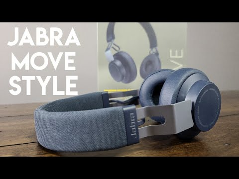 Jabra Move Style Headphone Review Great Work From Home Headphones Youtube