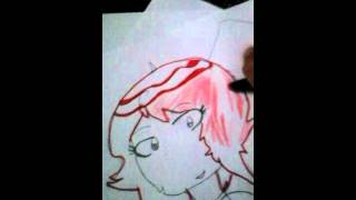Ruby  )color too fast?( I draw