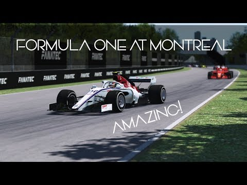 Formula One At Montreal In RFactor 2
