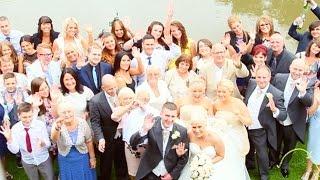 Erica John BIRTSMORTON COURT Wedding Highlights
