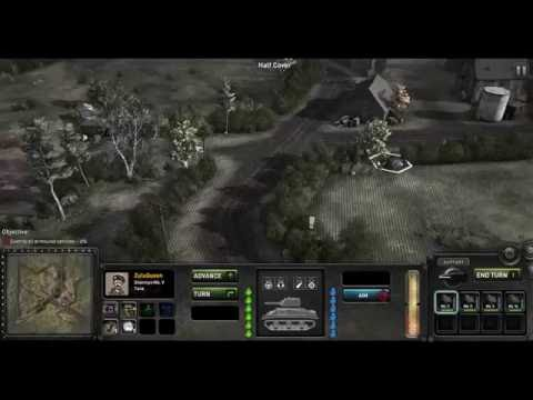 """The Troop"" (prov) - demo level gameplay with commentary.  Armoured engagement."