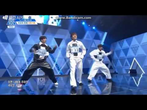 PRODUCE 101 SEASON 2 - MAROO (Park Jihoon, Kwon Hyeob, Han Jongyeon) EVALUATION PERFORMANCE