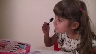 Maya - The 6 Year Old Makeup Guru