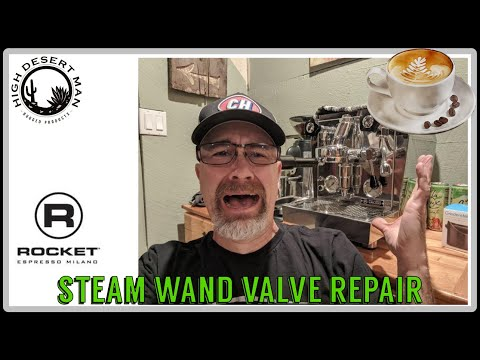 Rocket Giotto Steam Wand Valve Repair