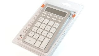 【Review】Satechi Bluetooth Wireless Smart Keypad ST-WKP31