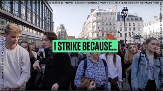 I Strike Because...