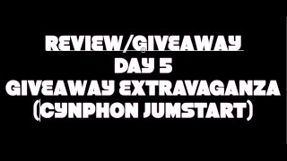 REVIEW / GIVEAWAY DAY 5 - GIVEAWAY EXTRAVAGANZA (CYNPHON BATTERY BANK)