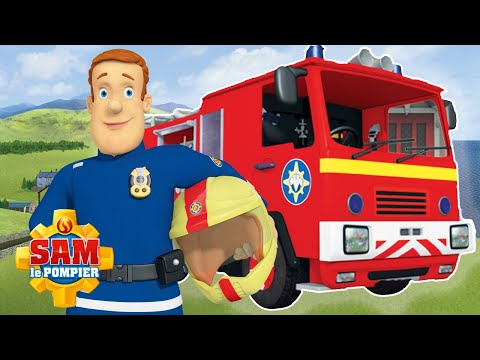 Sam le Pompier | Jupiter en action | Meilleures sauvetages avec le camion de pompiers! | animés
