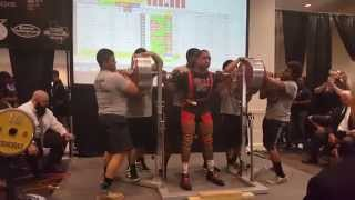 ian bell 827 lbs 375 kg squat 10 lbs 5kgs off the junior world record