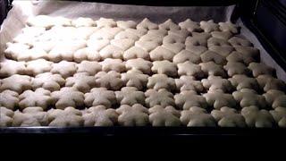 Песочное печенье  рецепт .На смальце