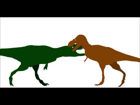 PPBA Daspletosaurus vs Albertosaurus remake