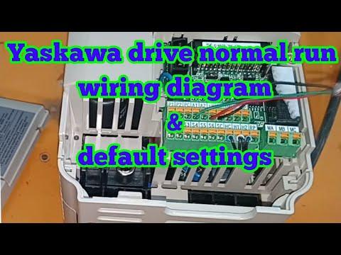 Yaskawa normally wiring diagram how to install yaskawa yaskawa