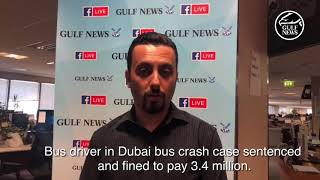 Dubai bus crash: Driver sentenced and fined