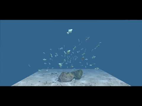 Flocking (Shoaling, Schooling Whatever) Fish - Unity 5