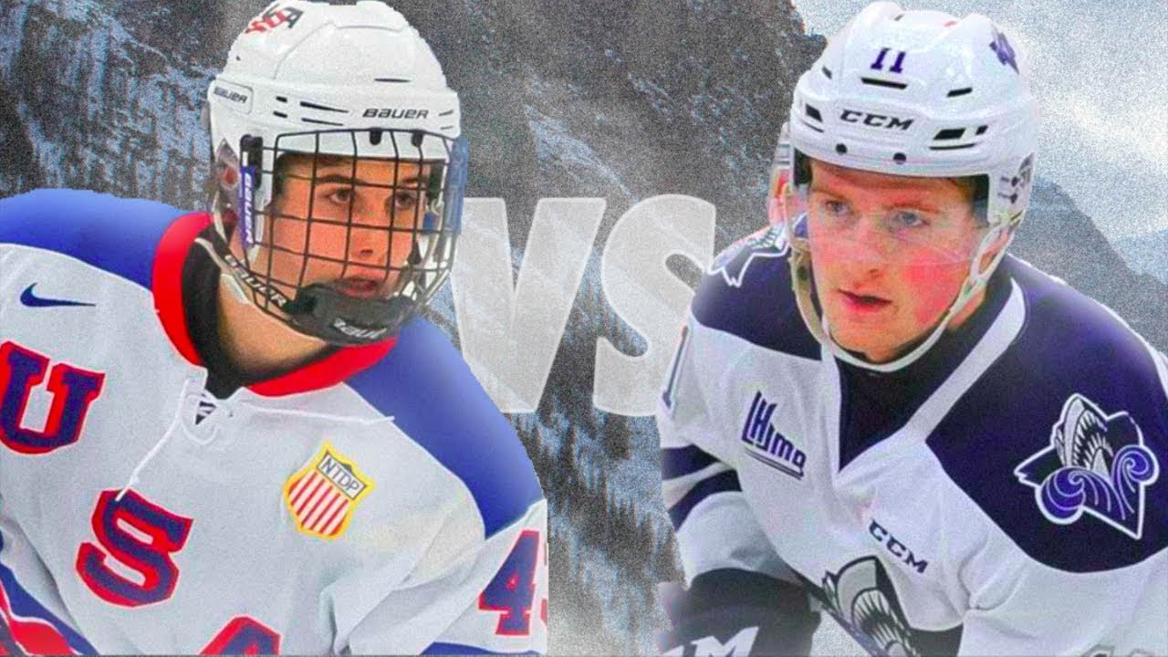 JACK HUGHES VS ALEXIS LAFRENIÈRE ! - 2019 AND 2020 NHL DRAFT TOP PROSPECTS  BATTLE