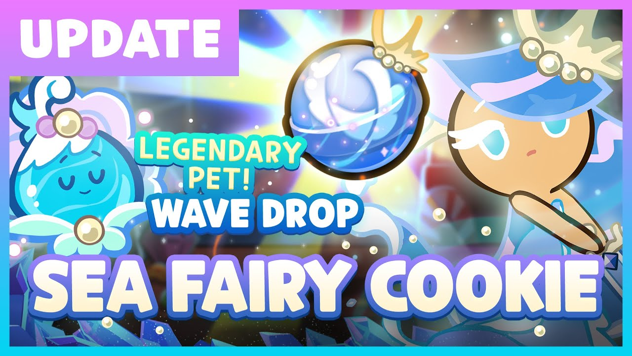 Sea Fairy Cookie Gets a Magic Candy!