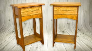Make BedSide Tables (Nightstand) Arts Crafts Style Woodworking Projects
