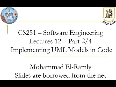 Software Engineering I Lecture 14 User Interface Design هندسة البرمجيات بالعربى محاضرة 14 Youtube