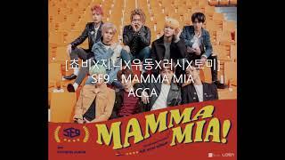 COVER :: [쵸비X지니X우동X러시X토미] SF9 (에스에프나인)  MAMMA MIA ACCA