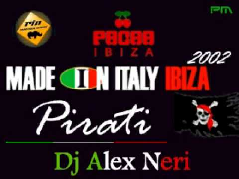 Alex Neri - Barbara Tucker & Luca G -- Made in Italy Pirati @ Pacha Ibiza 2002