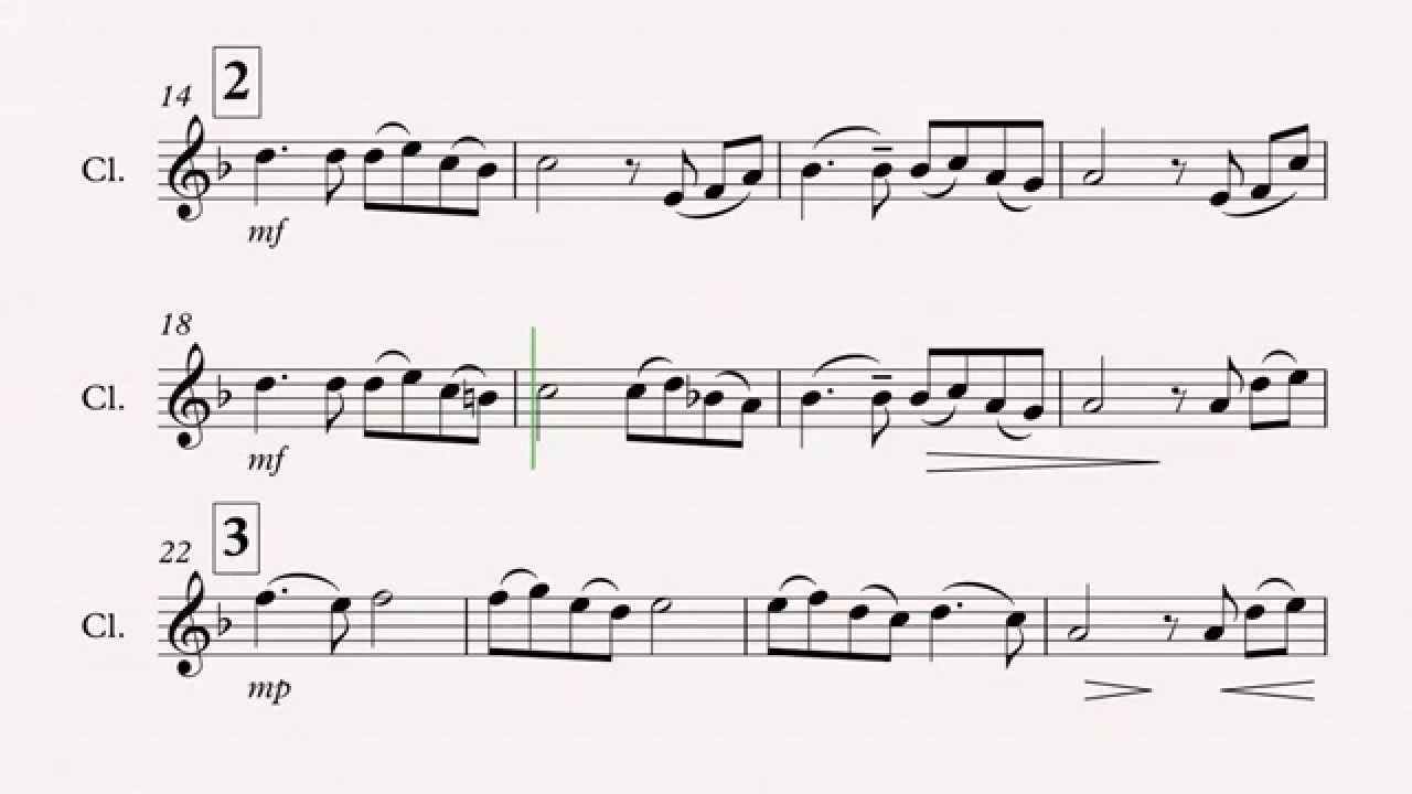 Song from a secret garden clarinet sheet music youtube - Secret garden musical soundtrack ...