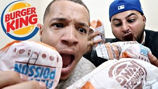 The ultimate burger king challenge !!