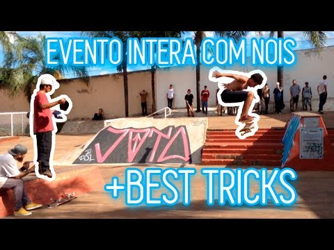 Evento INTERA REFORMA Skateplaza -BEST TRICKS