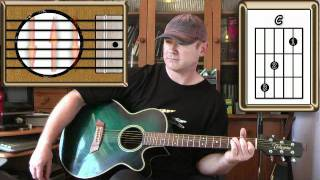 Don't Look Back In Anger - Oasis - Acoustic Guitar Lesson
