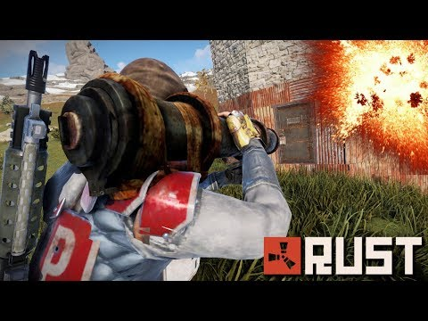 Pulling off a SCUMMY RAID on my NEIGHBORS! | Rust thumbnail