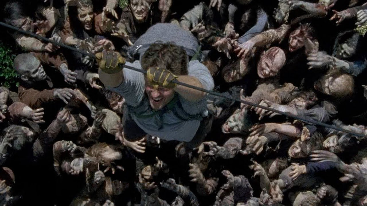 Download TWD S6E7 - Glenn and Enid arrive at Alexandria | Rick saves Spencer from Walkers