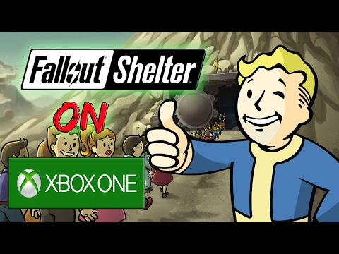 Playing Fallout Shelter On Xbox One (Free Game) #FalloutShelter
