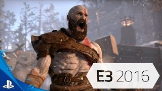 God of War - E3 PS4 Trailer