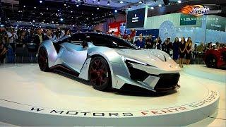 W-Motors Stand | Dubai International Motor Show 2015 | جناح دبليو موتورز | معرض دبى الدولى للسيارات