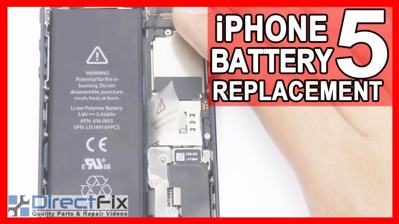 how to replace iphone 5 battery new iphone 5 battery replace repair shown in 5 minutes 3100