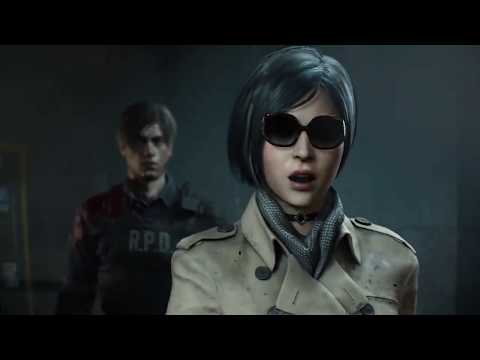RESIDENT EVIL 2 REMAKE - Leon and Ada All Cutscene