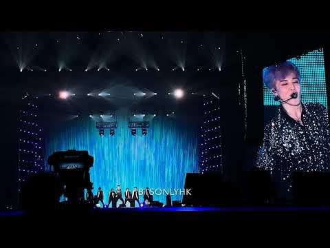 190321 Serendipity Jimin BTS(방탄소년단) Love Yourself Tour In Hong Kong Fancam