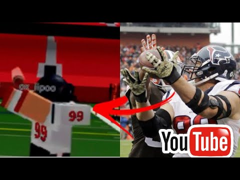 J.J Watt plays football fusion + comeback season!!!! *intense game*