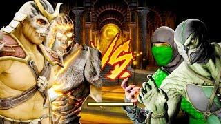 Mortal Kombat Komplete Edition - Midnight Shao Kahn & Dark Kahn Tag Ladder 4K Gameplay Playthrough