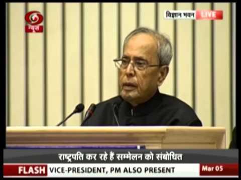 President Pranab Mukherjee lauds PM Narendra Modi for his commitment to 'Beti Bachao, Beti Padhao'