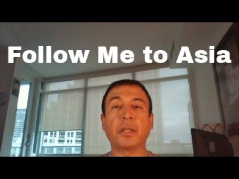 Follow Me to Asia - Trip Starts Tonight | Toronto, Canada | 26N17 Day 1A |