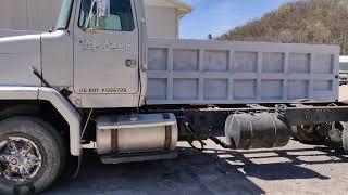 1989 Autocar Dump Truck For Sale