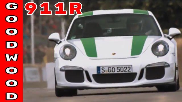 Porsche 911R aka 991R Hillclimb at Goodwood - YouTube