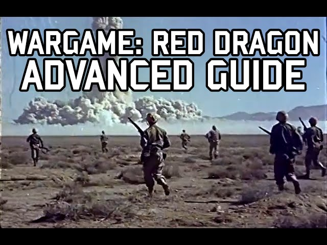 Wargame: Red Dragon - Advanced gameplay guide