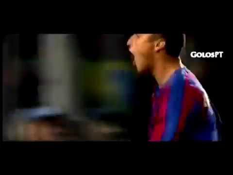 Henrik Larsson (Barcelona) - 22/11/2005 - Barcelona 3x1 Werder Bremen-ALE - 1 gol