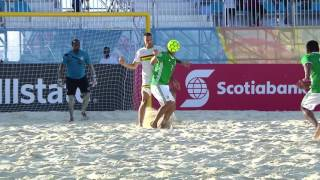 BSC 2017 México vs Guadeloupe Highlights