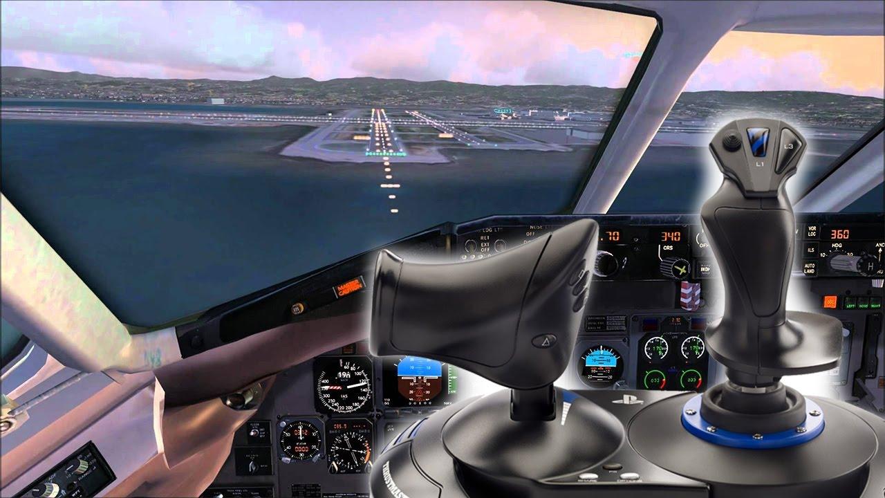 Simulatore di volo iper-realistico