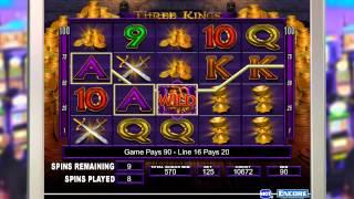IGT - Slots Three Kings BONUS 2260 gameplay