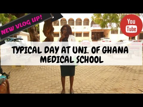 TYPICAL DAY AT UNI. OF GHANA MEDICAL SCHOOL, ACCRA #2 | Life of a 2nd Year Med Student