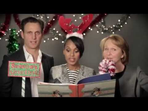 A Holiday Message From the Cast of SCANDAL for the SAG Foundation