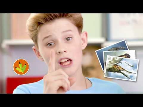 Смотри, динозавры!
